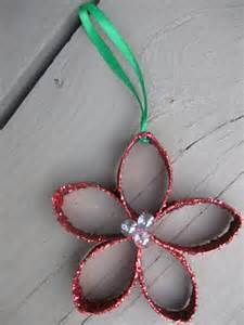 Toilet Paper Roll Christmas Crafts - Bing Images. Doing these in Girl Scouts to take to the seniors at a retirement home.