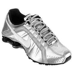 Nike Womens Wmns Shox Junior Metallic SilverWhiteBlack 12 M US -- Read more  at the image link.