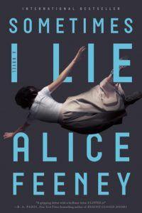 This giveaway is sponsored by Alice Feeney'sSometimes I Lie, out fromFlatiron Books. My name is Amber Reynolds. There are three things you should know about me: 1. I'm in a coma. 2. My husband doesn't love me anymore. 3. Sometimes I lie.    We have 10 copies of Sometimes I Lieby Alice Feeney to