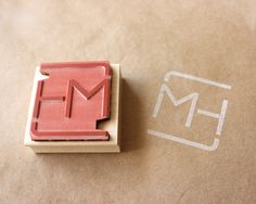 We Love logo stamps. A great way to brand anything. Even better on a self-inker for ease of use.