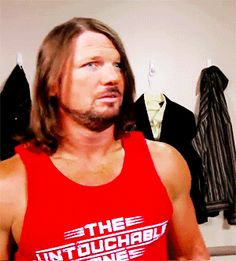 AJ STYLES WORLD Aj Styles Wwe, Surf Tattoo, Men's Wrestling, Ring Of Honor, Beard Growth, Nikki Bella, Total Divas, Seth Rollins, Yesterday And Today