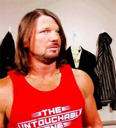 AJ STYLES WORLD Aj Styles Wwe, Surf Tattoo, Men's Wrestling, Beard Growth, Nikki Bella, Total Divas, Seth Rollins, Yesterday And Today, Wwe Wrestlers