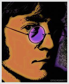 John Lennon by Otis Porritt