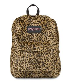 Jansport High Stakes Backpack Caramel Leopard