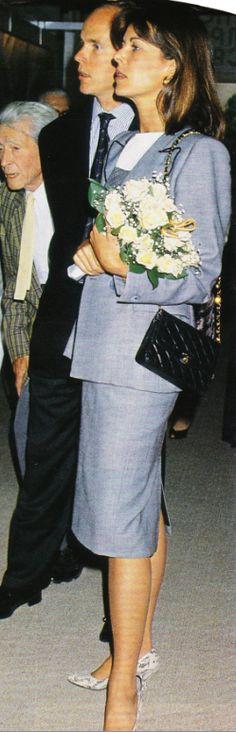 Princess Caroline and Prince Albert of Monaco.