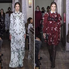 Valentino's Pre-Fall '17 was nothing less of perfection as individually printed gowns and tea dresses graced the runway. An optimistic take on new romance @maisonvalentino #PF17 #InStyleLoves  via INSTYLE UK MAGAZINE OFFICIAL INSTAGRAM - Fashion Campaigns  Haute Couture  Advertising  Editorial Photography  Magazine Cover Designs  Supermodels  Runway Models