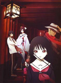 Anime, Jigoku Shoujo, Enma Ai, Ichimoku Ren, Hone-Onna
