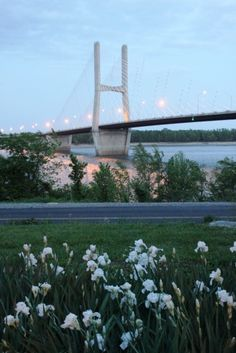 favorite part about home...the Mississippi river and Emerson Memorial Bridge