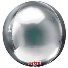 Add some WOW to your next party or event with this DIVINE 43CM Silver Orbz Foil Balloon!This gorgeous new shape and design is long lasting as they feature durable seams ensure that this balloon will stay inflated for 2-3 weeks. Easy to inflate - comes with an inflation guide sticker which helps you know when the balloon is inflated properly....