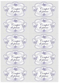 bucatar maniac: Etichete elegante pentru borcane