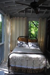 In love with this sleeping porch for the home pinterest sanctuary has a screened sleeping porch solutioingenieria Image collections