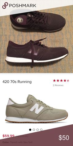buy popular c85b8 44d09 New Balance Women s 420 sneakers Brand new, never worn deep purple maroon new  balance