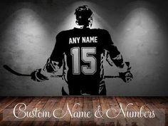 Personalized Hockey Wall Art #10 :)