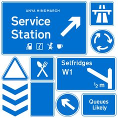 The #AnyaHindmarch #ServiceStation pop-up will be arriving @theofficialselfridges London on Friday 11th September. Find out more at anyahindmarch.com. #SelfridgesxAH