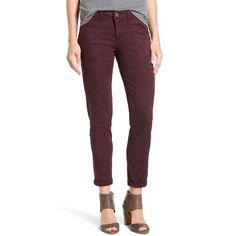 Women's Wit & Wisdom Skinny Cargo Pants ($68) ❤ liked on Polyvore featuring pants, dark byzantium, petite, petite pants, skinny cargo pants, skinny camo pants, camoflage cargo pants and camoflauge cargo pants