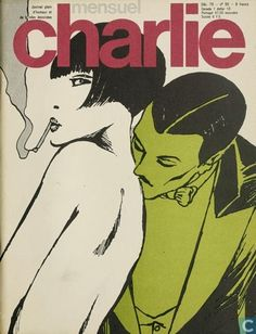 CHARLIE Seventies French adult comix mag., via Mia Ghiaccio