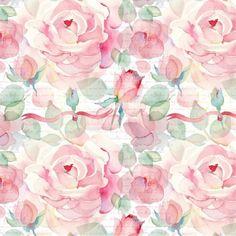 Papel de Parede Adesivo Floral Vintage Rosas  http://www.stickdecor.com.br/produto/papel-de-parede-adesivo/papel-de-parede-adesivo-floral-vintage-rosas/