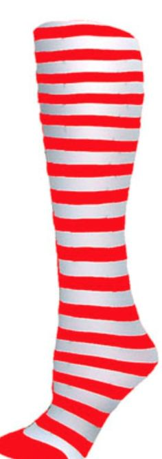 Foot Traffic Christmas Red White Stripe Nylon Trouser Womans Socks New Red Heart Patterns, Striped Tights, Trouser Socks, Opaque Tights, Black Socks, Girls Socks, Cool Socks, Red And White Stripes, Red Christmas