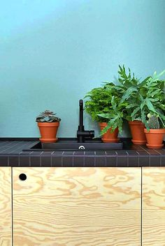 inspiration 2018 # interior design # kitchen - Home Page Kitchen Plants, Kitchen Decor, Interior Exterior, Interior Design Kitchen, Interior Office, Wood Interiors, Deco Design, Indoor Plants, Interior Inspiration