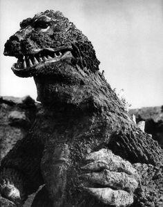 "citystompers: ""The Godzilla suit from King Kong vs. Godzilla (1962) via Black Sun """