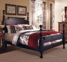 High End Paul Bunyan Type 4 Poster Queen Size Cannonball Bed ...
