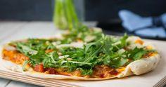 Super dünner & knuspriger Dinkel Pizzateig Deep Dish Pizza Crust Recipe, Weight Gain Meal Plan, Superfood, Soul Food, Meal Planning, Vegan Recipes, Food Porn, Food And Drink, Veggies