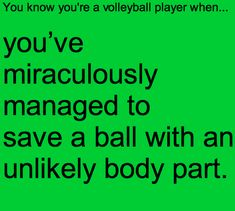 haha happened at my volleyball tournament and we got the point!