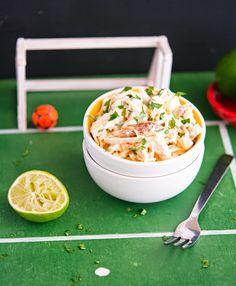 Brazilian Chicken Salad (Salpicão)