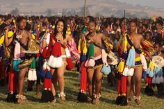 """Fluidr / Retlaw Snellac Photography's """"swaziland - umhlanga or reed dance"""" set Native Girls, African Girl, Zulu, Black Backgrounds, Culture, Dance, Pictures, Photos, People"""