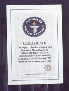 Guinness World Record 2007  #guinnessworldrecords #ripleys #hotwheels #mattel