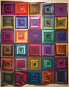 House Top Quilt by Tara Faughnan