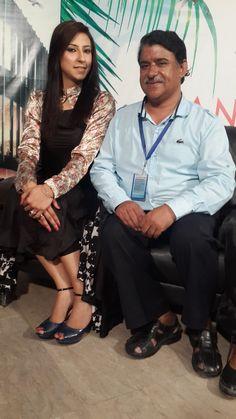 #host #Diya #khan & #Zunaira #good #morning #manchester #live on #Dm #digital #tv #network Waheed Iqbal WITH Syeda Mehroo Kanwal