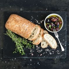 Ciabatta backen