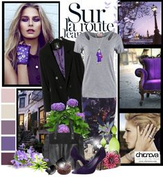 """Sur la route"" by christiana40 ❤ liked on Polyvore"