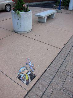 Amazing-Street-art-of-David-Zinn-Sluggo (57)