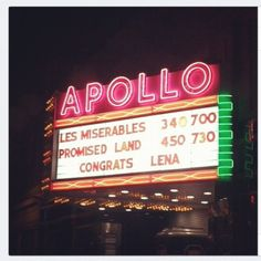 The Apollo Theatre at Oberlin College put this up on their marquee last night after Alumna Lena Dunham won 2 Golden Globes.