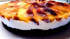 Cukormentes, diétás barackos túrótorta sütés nélkül - Salátagyár Stevia, Cheesecake, Sweets, Diet, Foods, Food Food, Food Items, Gummi Candy, Cheesecakes