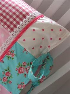 patchwork pillow case
