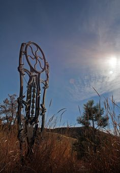 Industrial Revelations: Idaho Botanical Garden sculptures