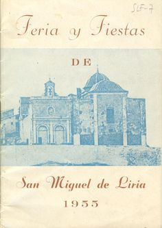 Cubierta Libro de Fiestas de 1955