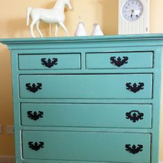 I'm going to paint my furniture in the guest bedroom this color.