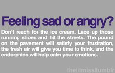 feeling sad or angry?