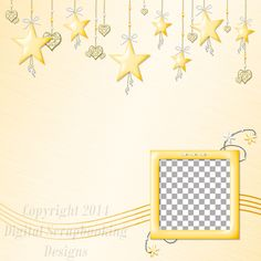"""Layout QP 8D-4 CAFS…..Quick Page, Digital Scrapbooking, Catch A Falling Star Collection, 12"""" x 12"""", 300 dpi, PNG File Format"""