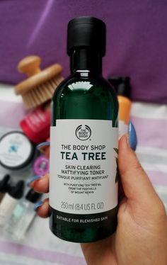 The Body Shop Tea Tree Mattifying Toner. Body Shop Toner, Body Shop Skincare, The Body Shop Logo, Body Shop Vitamin E, Best Skin Cream, Body Shop Tea Tree, Body Shop At Home, Body Brushing, Best Oils