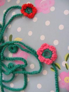 #watdoetvanessanu haken flowers bloemetjes crochet Uit het boek: Haken en meer