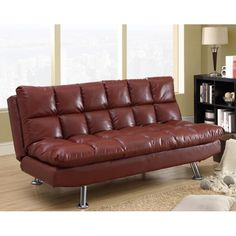 Red-Leather-Tufted-Design-Futon-b7555d85-1695-491f-b118-15e0b843cc06_600.jpg (600×600)