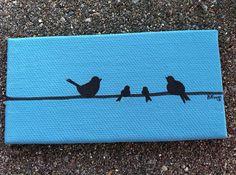 Bird Family on Etsy, $16.00
