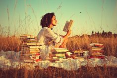 "Photo from flickr, copyright by user Minugia.  ""Reading was my escape and my comfort, my consolation, my stimulant of choice: reading for the pure pleasure of it, for the beautiful stillness that surrounds you when you hear an author's word reverberating in your head.""    Paul Auster, The Brooklyn Follies"