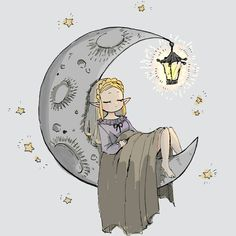 Good night princess Zelda