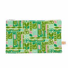 """Amy Reber """"Maze"""" Green Vector Everything Bag"""